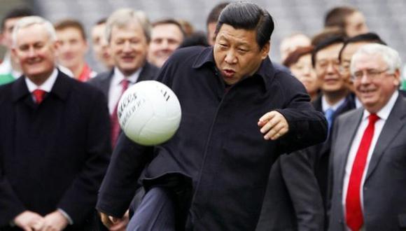 China incluyó al fútbol como curso obligatorio en el colegio