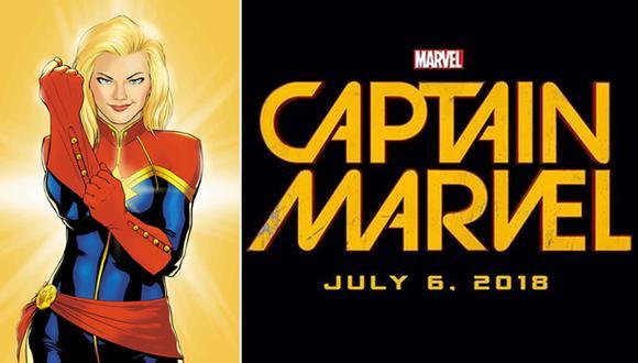 """Carol Danvers será el """"Capitán Marvel"""" en nueva película"""