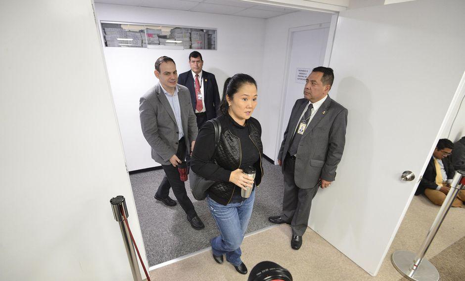Keiko Fujimori cumple prisión preventiva por el caso Odebrecht desde el 31 de octubre. (Foto: EFE)