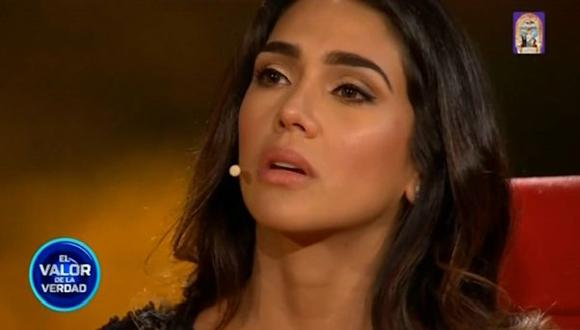 """""""El valor de la verdad"""": Vania Bludau confesó que fue víctima de agresión de parte de su padre. (Foto: Captura de video)"""