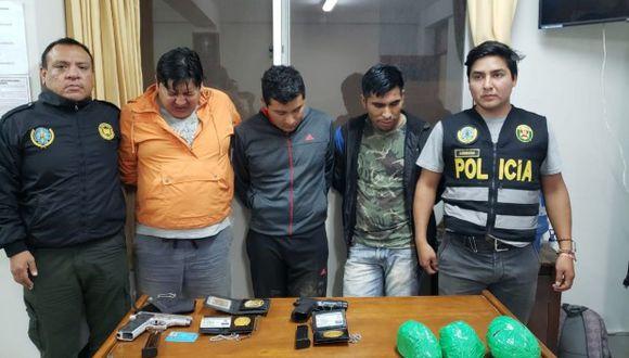 La Libertad: policías detenidos transportaban droga de la sierra a Trujillo