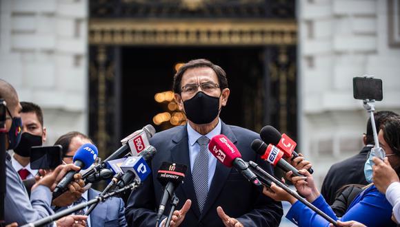 """""""Continuaré participando en las comisiones a las que se me convoque"""", señaló Martín Vizcarra. (Foto: archivo AFP)"""