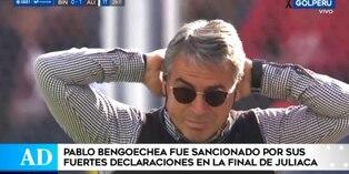 Entrenador de Alianza Lima fue sancionado por la Comisión Disciplinaria de la FPF