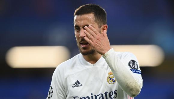 Eden Hazard será suplente en el Real Madrid vs. Sevilla por LaLiga | Foto: REUTERS