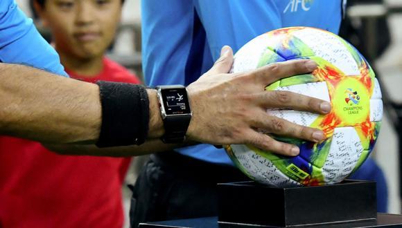 """Un nuevo balón para la Champions League: así es el """"colorido"""" que muestra la """"pasión de los jugadores"""". (Foto: AFP)"""