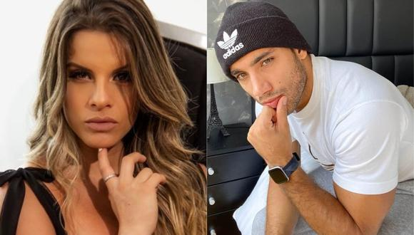 "Las cámaras de ""Magaly TV: La Firme"" captaron a Alejandra Baigorria y a la expareja de Macarena Vélez, Said Palao, besándose. (Foto: Captura Instagram)"