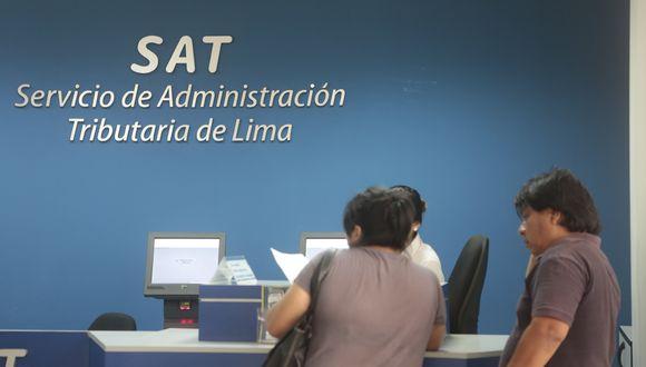 El SAT realizará sorteos con la finalidad de promover el cumplimiento oportuno de las obligaciones tributarias. (Foto: Diana Chávez / GEC)