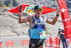 Remigio Huamán campeón de la Media Maratón des Sables Fuerteventura-España