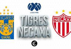VER, Tigres vs. Necaxa EN VIVO: señal TUDN en directo, partido gratis online por Liga MX