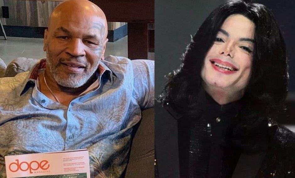 """Mike Tyson sobre Michael Jackson. """"No dejaría que mi hijo saliera con él o que fuera a su casa"""". (Foto: @miketyson/EFE)"""