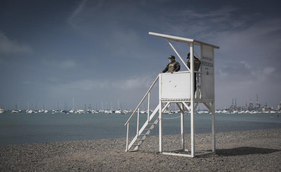 El presidente Martín Vizcarra anunció que se permitirá el acceso a las playas por días para evitar que se conviertan en focos de contagio del coronavirus. (Foto: Renzo Salazar/GEC)