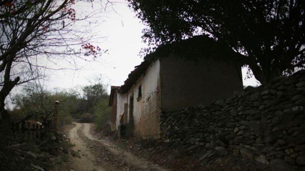 Muchas casas abandonadas por la violencia se encuentran en zonas rurales. Foto: Getty images, vía BBC Mundo