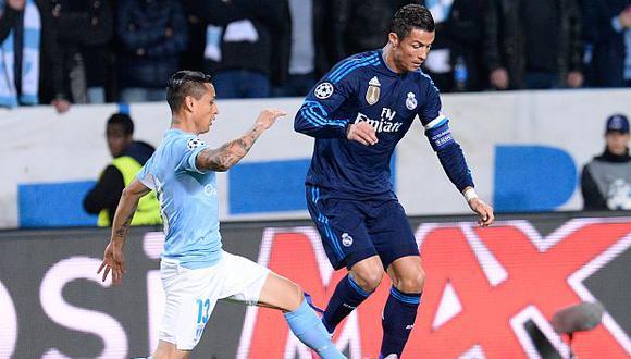 Yoshimar Yotún jugó la fase de grupos de la Champions League en la temporada 2015-16. (Foto: AFP)