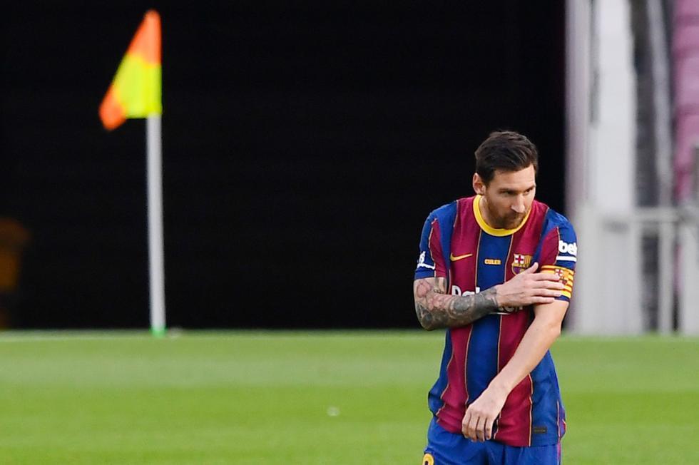 Lionel Messi fue capitán en el duelo frente al Elche