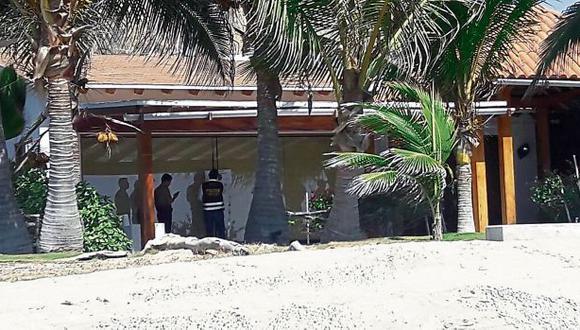 La casa del ex presidente Alejandro Toledo, en el balneario de Tumbes, pasó a manos de la Conabi. (Foto: USI)