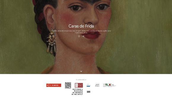 Pinturas, dibujos, cartas, objetos personales, escritos y videos vinculados a la artista mexicana Frida Kahlo, contiene la compilación hecha por museos y galerías del mundo. (Foto: Google Arts & Culture)