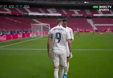 El gol de Benzema que salvó al Real Madrid: el tanto del francés para el 1-1 ante Atlético de Madrid [VIDEO]