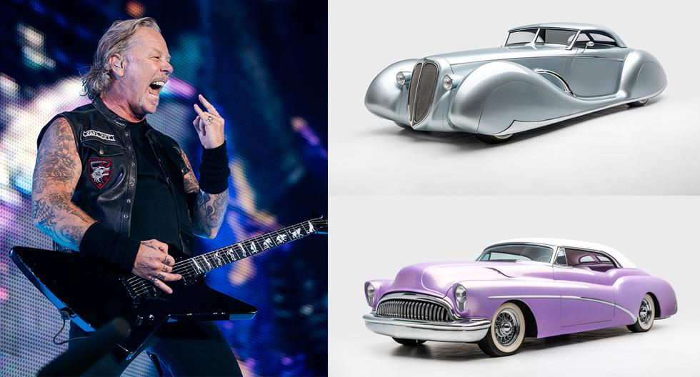 James Hetfield presentará su colección de autos en el Petersen Automotive Museum de Los Ángeles. (Fotos: AFP / Petersen Automotive Museum)