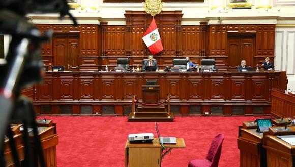 Sesión del pleno se retomará este lunes, a las 9 de la mañana. (Foto: Congreso)