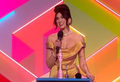 Brit Awards 2021: Dua Lipa ganó el premio a mejor álbum