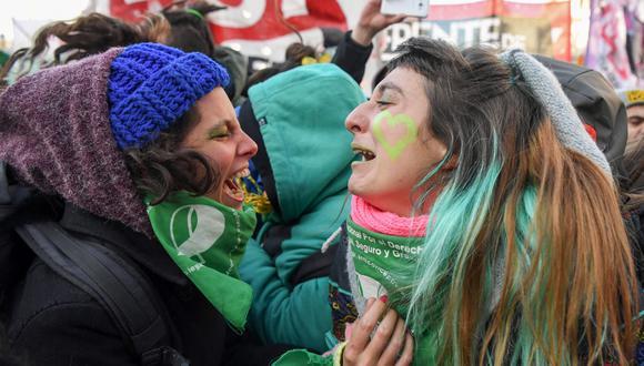 Argentina | Aborto EN VIVO: Diputados aprueban la legalización del aborto. (AFP).