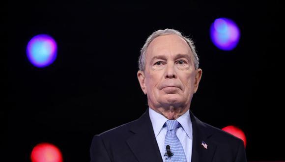 Michael Bloomberg entrega 4 millones de dólares para la campaña de Joe Biden en Florida. (Foto: Logan Cyrus / AFP).