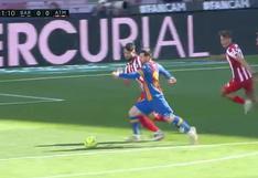 Barcelona vs. Atlético de Madrid: Lionel Messi quedó cerca de marcar un golazo en el partido de LaLiga | VIDEO