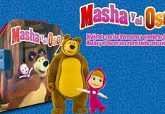 Masha y el Oso, una historia de amistad, amor y travesuras
