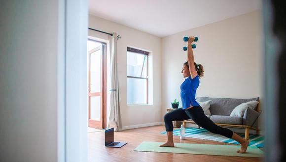 La velocidad con la que haces los ejercicios también influye.(Foto: iStock)