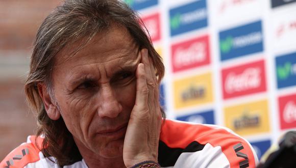 Gareca lleva seis años al mando de la selección. (Foto: GEC)