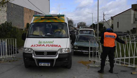 En Quilmes fue detenido Gabriel Lezcano luego de apuñalar a una mujer en el pecho, quien fue llevada a un hospital y su estado es de cuidado. (Foto referencial: JUAN MABROMATA / AFP)