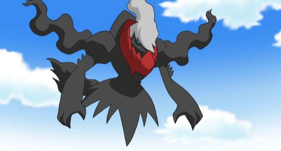 Darkrai es un Pokémon legendario que aparecerá en el evento por Halloween de Pokémon GO.