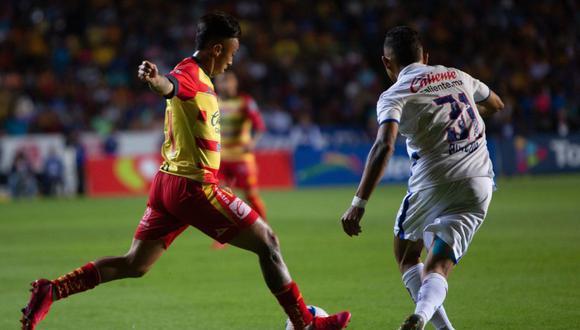Cruz Azul vapuleó a Morelia por 4-2 por la J8 del Clausura 2020 de la Liga MX | Foto: EFE
