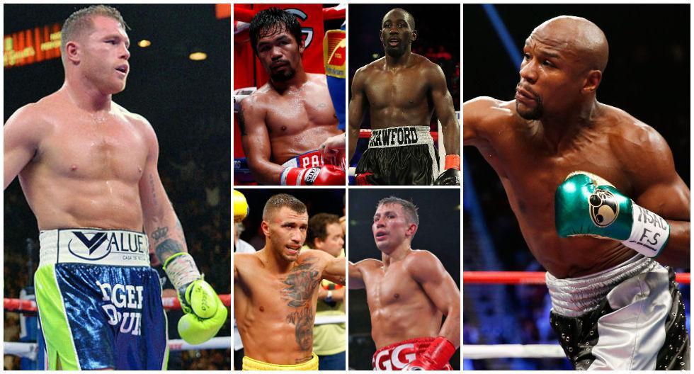 Las 10 peleas pugilísticas que el mundo del boxeo quiere ver este 2020. (Foto: AFP)