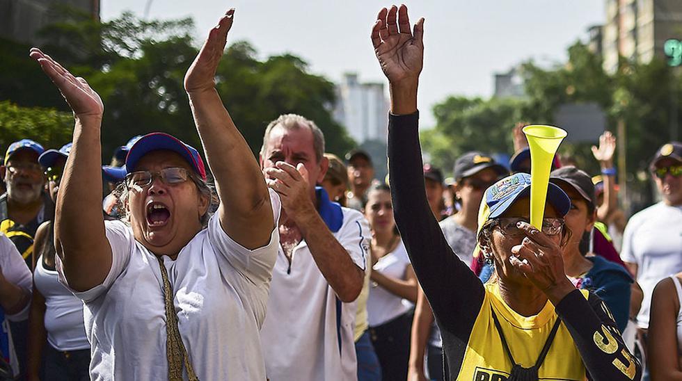 """Venezuela: """"La madre de todas las marchas"""" contra Maduro - 3"""