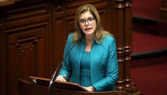 Mercedes Aráoz señaló que Yeni Vilcatoma genera ruido, pero no inestabilidad, porque ninguna bancada ha pedido la renuncia de PPK. (Foto: PCM / Video: Canal N)