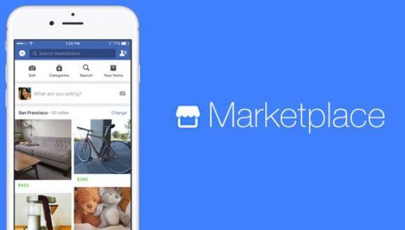 Marketplace fue lanzado hace 20 meses. Fue promocionado de forma metódica y arrolladora hasta estar presente con un botón propio en la página principal. (Foto: Facebook)