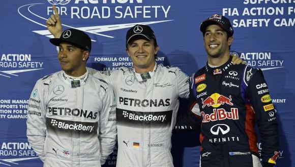 Fórmula 1: Rosberg se lleva la pole en Bahréin