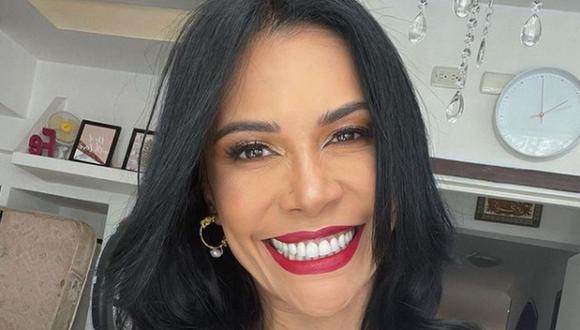 Jenny García apareció en el programa al iniciar un romance con Efraín Rodríguez, después de conocerlo en un supermercado cuando ella trabajaba como impulsadora (Foto: Martha Isabel / Instagram)