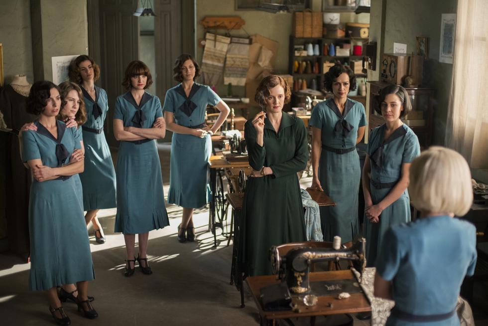 """Imágenes de la nueva temporada de """"Las chicas del cable"""". (Foto: Netflix)"""