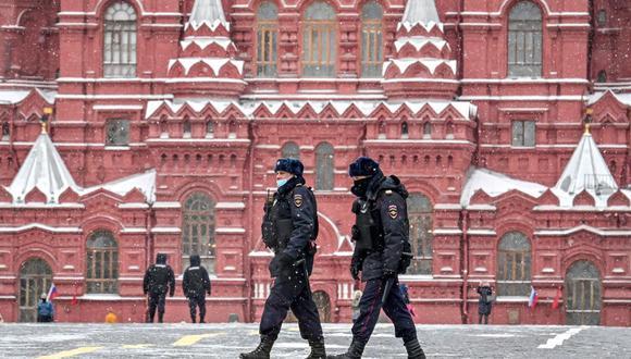 Rusia detiene al cónsul de Ucrania en San Petersburgo Alexandr Sosoniuk al recibir información secreta. (Foto referencial, Yuri KADOBNOV / AFP),