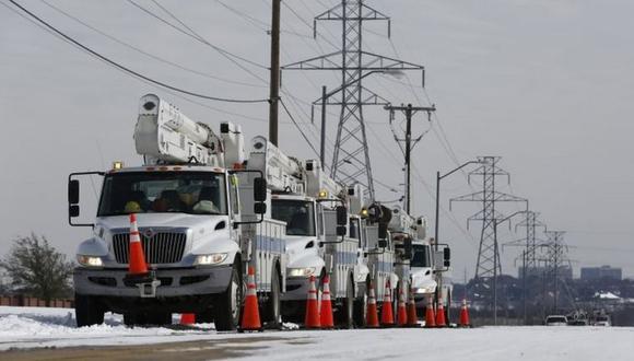 La tormenta invernal más dura en 30 años en Texas ha causado serios problemas de suministro eléctrico para ese estado de EE.UU. y para México. (Foto: EPA)