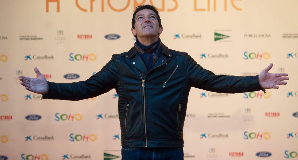 Antonio Banderas cumple su sueño teatral en Málaga con el Teatro del Soho. (Foto: AFP)