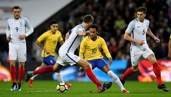 Brasil visitará a Inglaterra este martes (3:00 p.m. EN VIVO ONLINE por ESPN) en un partido amistoso rumbo al Mundial de Rusia 2018. (Foto: Reuters)