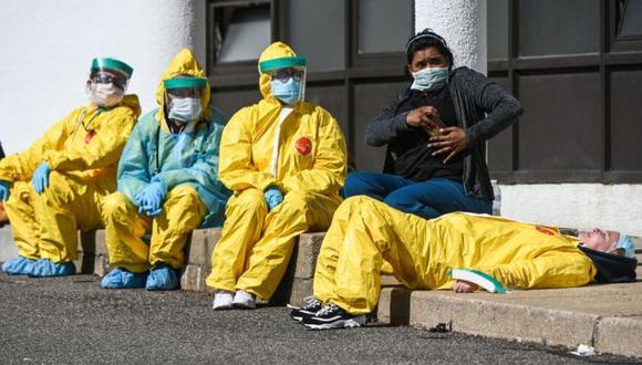 Los trabajadores de la salud sufren un riesgo mayor de contraer covid-19. (Foto: Getty)