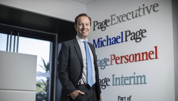 Ignacio Hernández de la Torre, CEO de PageGroup en nuestro país, confía en seguir cosechando más números positivos, tal y como lo vienen haciendo desde hace casi seis años. (FOTO: CÉSAR CAMPOS)