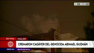 Creman restos de Abimael Guzmán