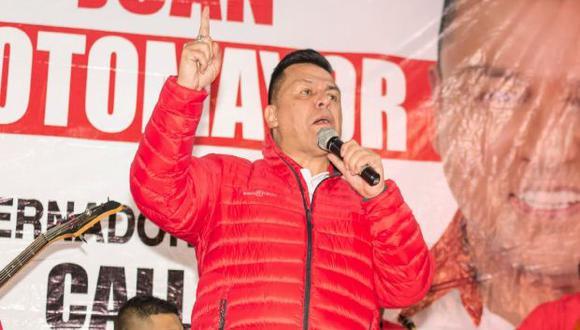 Juan Sotomayor ha sido electo alcalde provincial del Callao en dos ocasiones. (Foto: Facebook)