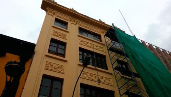 Restaurarán casonas del Centro Histórico de Lima