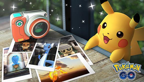 El nuevo modo de fotografía de Pokémon Go se llamará Go Snapshot. (Difusión)